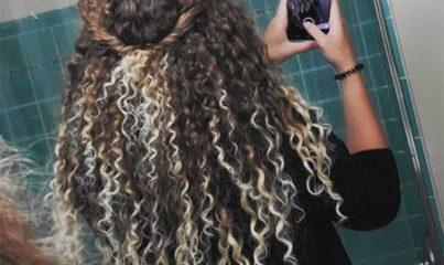 kıvırcık saç bakımı için 5 süreç 9