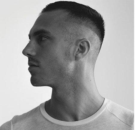 erkekler için sıra dışı 5 numara saç kesimleri 2