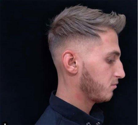 erkekler için sıra dışı 5 numara saç kesimleri 6