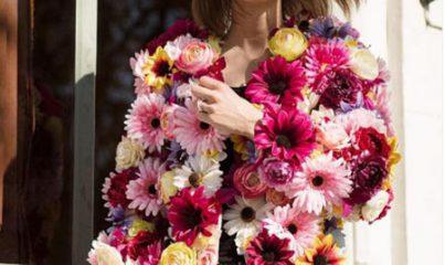 çiçekli ceket modelleri ve kombinleri 1
