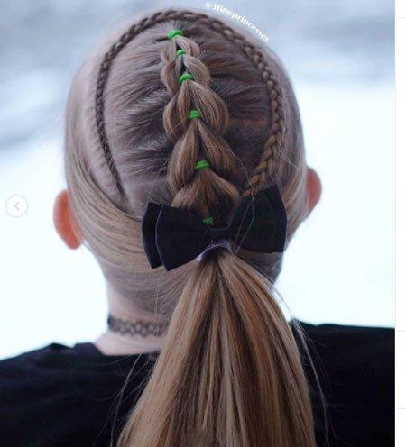 en güzel 19 çocuk abiye saç modeli 1