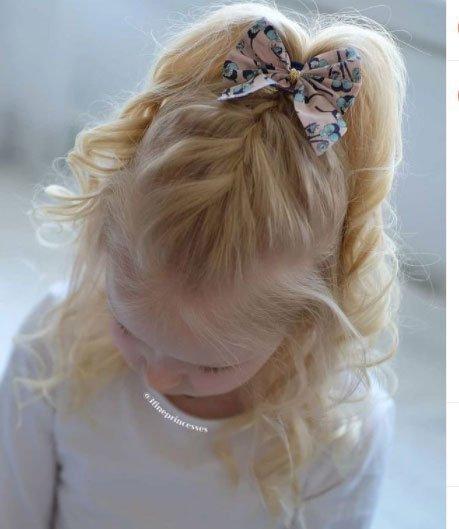 en güzel 19 çocuk abiye saç modeli 3