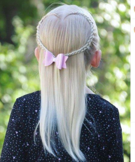 en güzel 19 çocuk abiye saç modeli 4