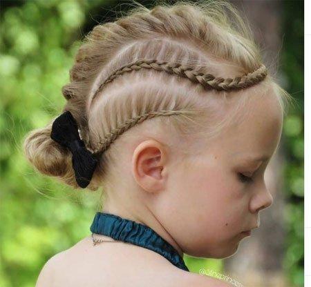 en güzel 19 çocuk abiye saç modeli 5