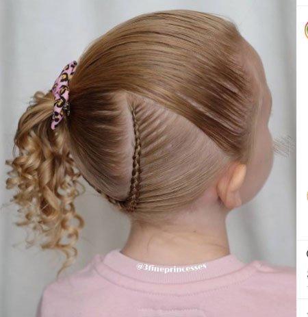 en güzel 19 çocuk abiye saç modeli 6