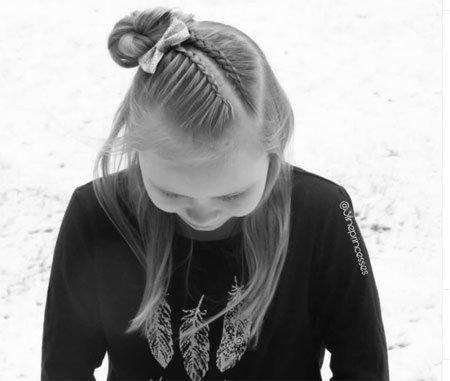 en güzel 19 çocuk abiye saç modeli 10