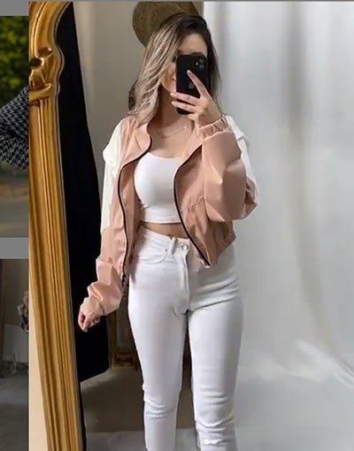 kısa ceket kombin