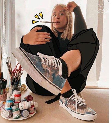 kadınlar için vans ayakkabı