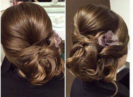 yandan topuz saç modelleri nasıl yapılır - 47 farklı stil 2