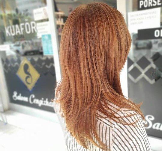 karamel kahve saç rengi ve evde boyama rehberi 6