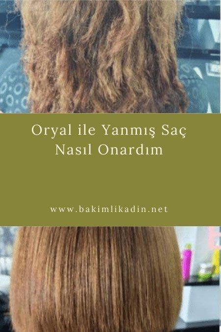 oryal i̇le yanmış saç