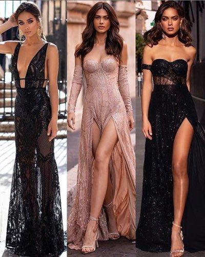 en güzel 50 parti elbiseleri ve kombinleri 30