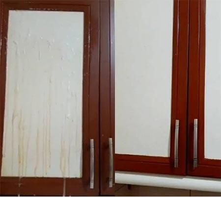 mutfak dolaplarındaki yağlar nasıl temizlenir? 1