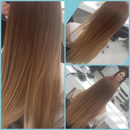 altın karamel saç rengi 1