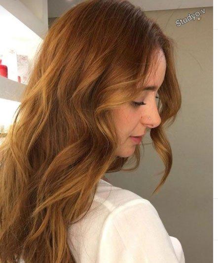 ballı bisküvi saç rengi ve modelleri 1