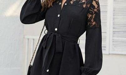 gömlek elbise kombinleri 1