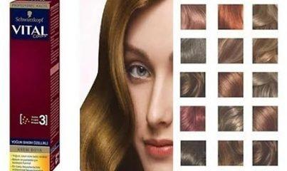 vital saç boyası 9