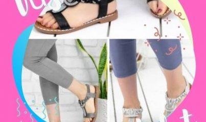 düz taban sandalet modelleri 2