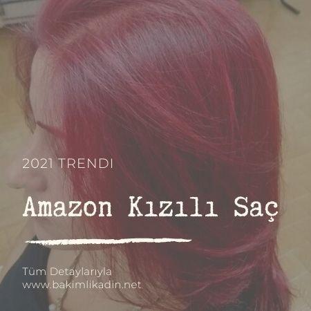 amazon kızılı saç rengi