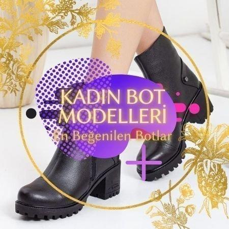 2021 kadın bot modelleri 1