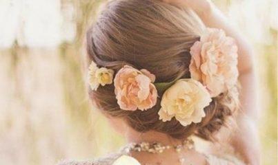 çiçekli saç stilleri - 30 farklı tarz örneği 3