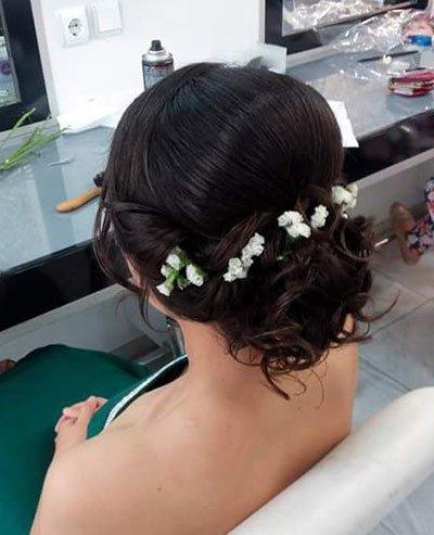 çiçekli saç stilleri - 30 farklı tarz örneği 2