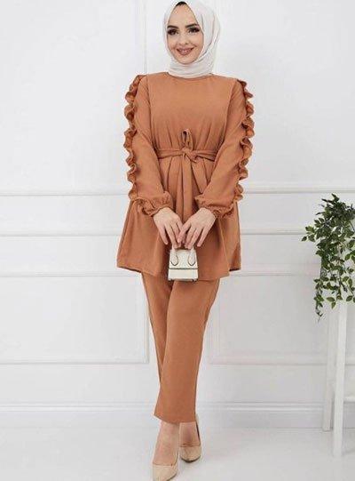 2021 tesettür giyimde kış modası - i̇lham verici 50+ kombin önerisi 1